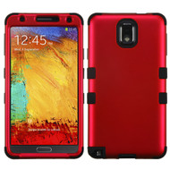 Military Grade Certified TUFF Hybrid Case for Samsung Galaxy Note 3 - Red