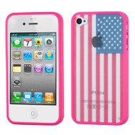 Polymer Hybrid Case and Screen Protector for iPhone 4 / 4S - United States