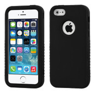 Verge Hybrid Case for iPhone SE / 5S / 5 - Black