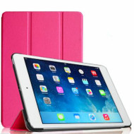Smart Leather Hybrid Case for iPad (2017) / iPad Air - Hot Pink