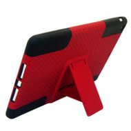 Astronoot Multi-Layer Kickstand Hybrid Case for iPad Air - Red