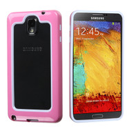 Dual-Layer Bumper Cover for Samsung Galaxy Note 3 - Black