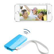 Selfie Mate Multifunctional Bluetooth Wireless Remote Control - Blue