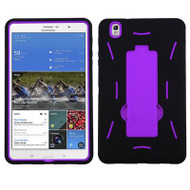 *Sale* Explorer Impact Armor Kickstand Hybrid Case for Samsung Galaxy Tab Pro 8.4 - Black Purple