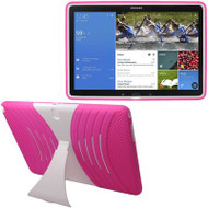 *Sale* Shockproof Armor Kickstand Case for Samsung Galaxy Tab Pro 12.2 - Hot Pink White