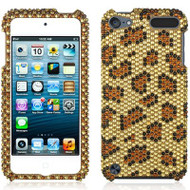 Diamante Rhinestone Cover for iPod Touch 5th / 6th Generation - Leopard