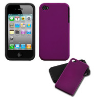 *CLEARANCE* Fusion Multi-Layer Hybrid Case for iPhone 4 / 4S - Purple