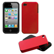 *CLEARANCE* Fusion Multi-Layer Hybrid Case for iPhone 4 / 4S - Red