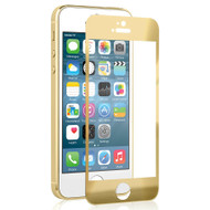 *SALE* Pro-Glas Premium Tempered Glass Screen Protector for iPhone SE / 5S / 5C / 5 - Gold