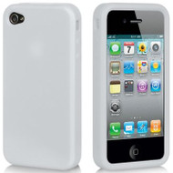 *DOLLAR SALE* Premium Silicone Skin Cover for iPhone 4 / 4S - Frost Clear