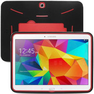Explorer Impact Armor Kickstand Hybrid Case for Samsung Galaxy Tab 4 10.1 - Black Red