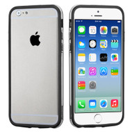 Hybrid Bumper Case for iPhone 6 / 6S - Black Clear