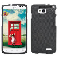 *$1 SALE* Snap-On Protective Image Case for LG Optimus L90 - Carbon Fiber
