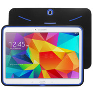 Explorer Impact Armor Kickstand Hybrid Case for Samsung Galaxy Tab 4 10.1 - Black Blue
