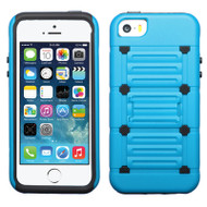 TechnoKick Hybrid Case for iPhone SE / 5S / 5 - Blue