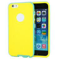 *Sale* BumperShield Protective Case for iPhone 6 / 6S - Yellow Baby Blue