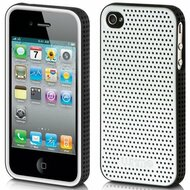 *CLEARANCE* Platinum Collection Fusion Apex Case for iPhone 4 / 4S - Silver