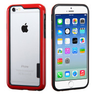 Snap-On Hybrid Bumper Case for iPhone 6 / 6S - Red