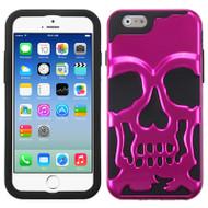 Skullcap Hybrid Case for iPhone 6 / 6S - Hot Pink