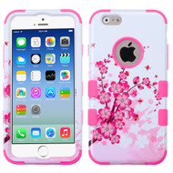 Military Grade Certified TUFF Image Hybrid Case for iPhone 6 / 6S - Spring Flowers