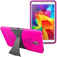 *Sale* Shockproof Armor Kickstand Case for Samsung Galaxy Tab S 8.4 - Hot Pink