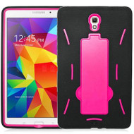 *Sale* Explorer Impact Armor Kickstand Hybrid Case for Samsung Galaxy Tab S 8.4 - Black Hot Pink