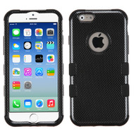*SALE* Military Grade TUFF Image Hybrid Case for iPhone 6 / 6S - Carbon Fiber