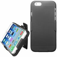 *SALE* Armor Shell Case with Holster for iPhone 6 / 6S - Black