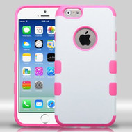 Military Grade Certified TUFF Merge Hybrid Case for iPhone 6 / 6S - White Hot Pink