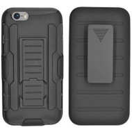 *SALE* Robust Armor Stand Protector Cover with Holster for iPhone 6 / 6S - Black