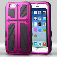 Cross Hybrid Case for iPhone 6 / 6S - Hot Pink