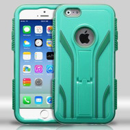 TUFF Extreme Hybrid Kickstand Case for iPhone 6 / 6S - Green