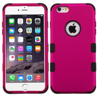 Military Grade Certified TUFF Hybrid Case for iPhone 6 Plus / 6S Plus - Hot Pink