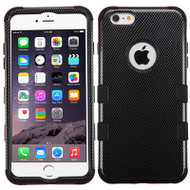 Military Grade Certified TUFF Image Hybrid Case for iPhone 6 Plus / 6S Plus - Carbon Fiber