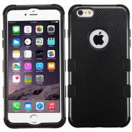 Military Grade Certified TUFF Image Hybrid Case for iPhone 6 Plus / 6S Plus - Carbon Fiber