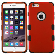 Military Grade Certified TUFF Hybrid Case for iPhone 6 Plus / 6S Plus - Red