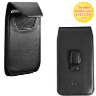 *SALE* Vertical Leather Hip Case - Black 03876