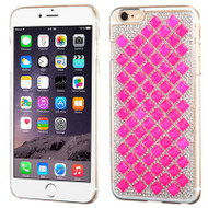 Desire Bling Bling Crystal Cover for iPhone 6 Plus / 6S Plus - Diamond Hot Pink