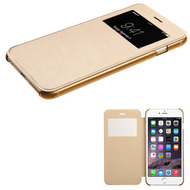 Book-Style Hybrid Case for iPhone 6 Plus / 6S Plus - Gold
