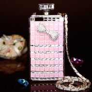 Glitzy Perfume Bottle Jewel Case for iPhone 6 Plus / 6S Plus - Bow
