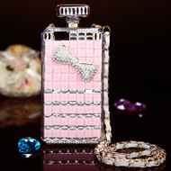 Glitzy Perfume Bottle Jewel Case for iPhone 6 / 6S - Bow