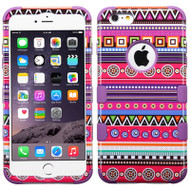 Military Grade Certified TUFF Image Hybrid Case for iPhone 6 Plus / 6S Plus - Tribal Fashion