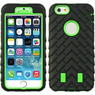Terrain Heavy Duty Hybrid Case for iPhone 6 / 6S - Black Green