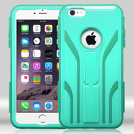 TUFF Extreme Hybrid Kickstand Case for iPhone 6 Plus / 6S Plus - Green