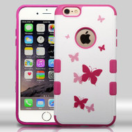 Military Grade Certified TUFF Merge Graphic Hybrid Case for iPhone 6 Plus / 6S Plus - Butterfly Dancing