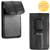 Executive Leather Pouch - Black