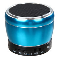 Mobile Bluetooth Wireless Speaker with Hands-Free Speakerphone - Blue
