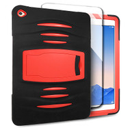 *SALE* Maximum Armor Hybrid Case with Integrated Screen Protector for iPad Air 2 - Black Red