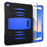 *SALE* Maximum Armor Hybrid Case with Integrated Screen Protector for iPad Air 2 - Black Blue