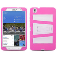 *Sale* Pro-Tek Traction Hybrid Kickstand Case for Samsung Galaxy Tab Pro 8.4 - Hot Pink White